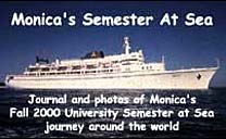 Monica's Semester At Sea